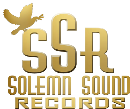 Solemn Sound Records logo.