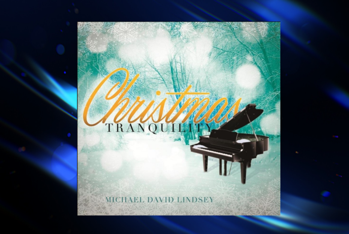 CD cover for Christmas Tranquility by Michael David Lindsey.